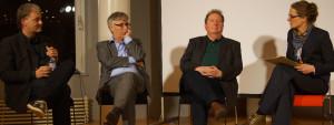 Dirk Metzger, Dr. Udo Witthaus, Tom Kummerfeldt im Gespräch
